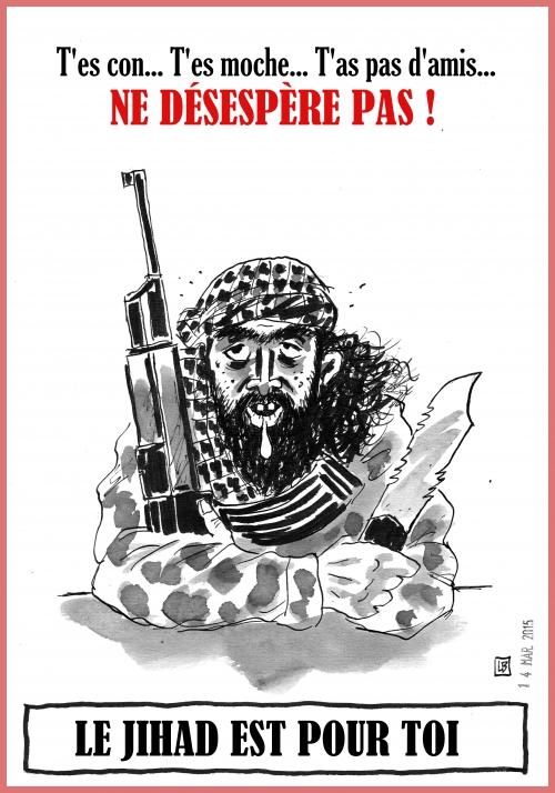 webzine,bd,zébra,fanzine,bande-dessinée,caricature,djihadiste,leb,dessin,presse,satirique,editorial cartoon,lb