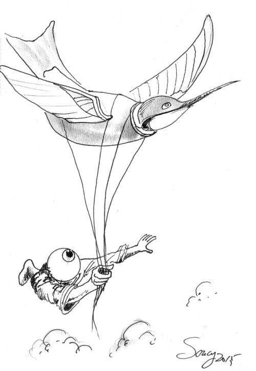 webzine,bd,zébra,gratuit,bande-dessinée,michel soucy,dessin