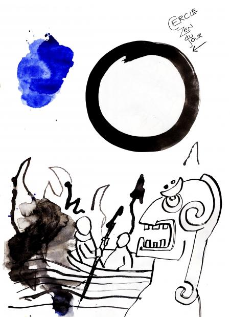 webzine,bd,gratuit,zébra,fanzine,bande-dessinée,dessin,carnet,incas,cercle zen,louise asherson,illustration
