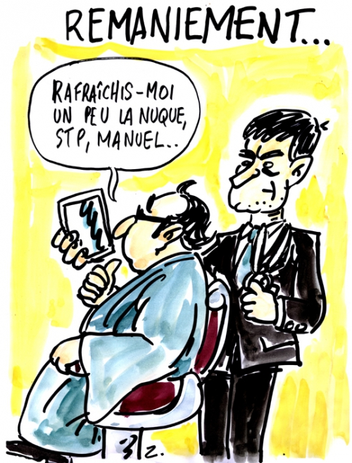 webzine,bd,zébra,gratuit,fanzine,bande-dessinée,caricature,remaniement,françois hollande,manuel valls,satirique,dessin,presse,editorial cartoon,zombi