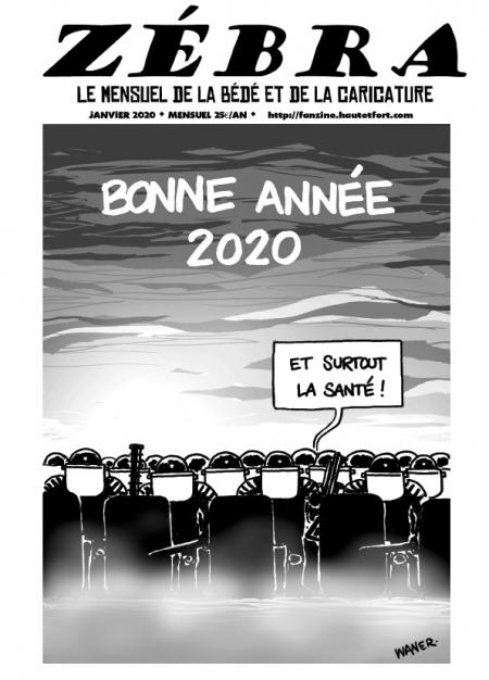 webzine,bd,gratuit,zébra,fanzine,bande-dessinée,pdf,mensuel,caricature,waner,zombi,reyn,janvier,2020,dessin,presse,satirique