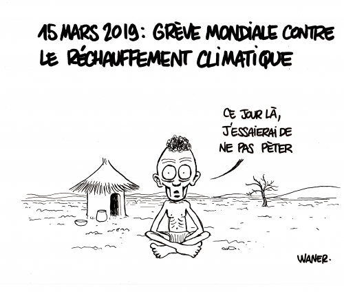 webzine,bd,zébra,gratuit,fanzine,bande-dessinée,caricature,waner,climat,15 mars,réchauffement,dessin,presse,satirique,waner,editorial cartoon