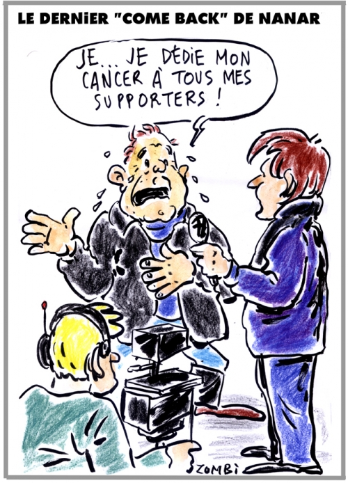 webzine,zébra,gratuit,bd,fanzine,bande-dessinée,caricature,bernard tapie,cancer,nanar,immodeste,dessin,presse,satirique,editorial cartoon,zombi