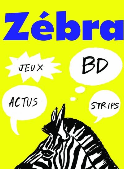 webzine,bd,gratuit,zébra,fanzine,bande-dessinée,couverture,spécial,été,annonceur,mécène,sponsor