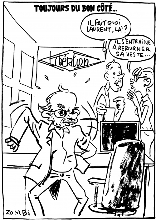 webzine,bd,zébra,gratuit,fanzine,bande-dessinée,caricature,laurent joffrin,libération,journaliste,dessin,presse,satirique,zombi