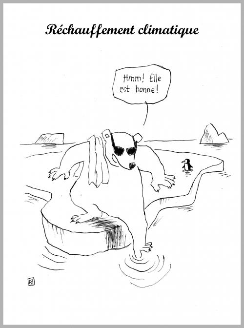 webzine,bd,zébra,gratuit,fanzine,bande-dessinée,caricature,réchauffement,climatique,ours blanc,dessin,presse,satirique,editorial cartoon