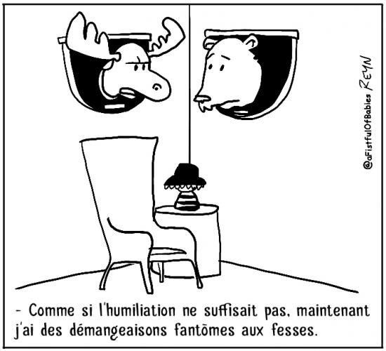 webzine,bd,zébra,fanzine,gratuit,bande-dessinée,comic-strip,reyn,afistfulofbabies,trophée,chasse,fantôme,humour,gag