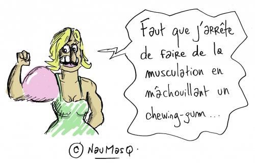 webzine,bd,zébra,fanzine,gratuit,bande-dessinée,gag,naumasq,gonflette,musculation,humour,dessin
