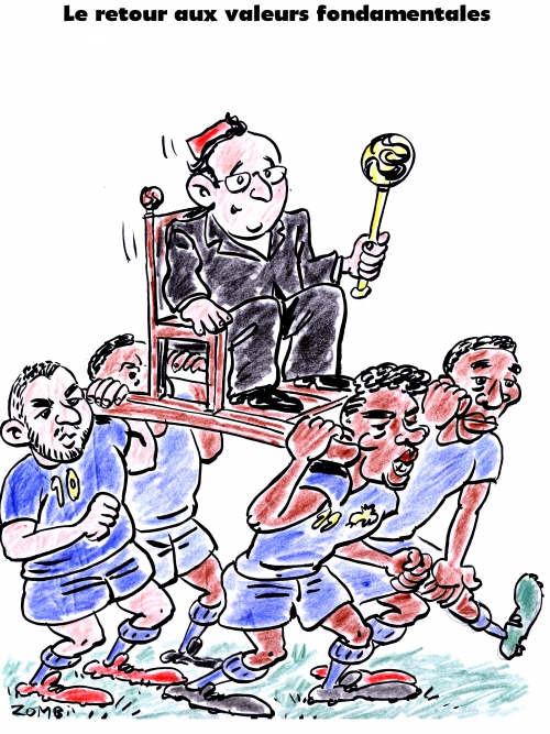 webzine,bd,gratuit,zébra,fanzine,bande-dessinée,satirique,caricature,paul pogba,françois hollande,foot,coupe du monde,brésil,2014,karim benzéma,blaise matuidi,dessin,presse,editorial cartoon,zombi