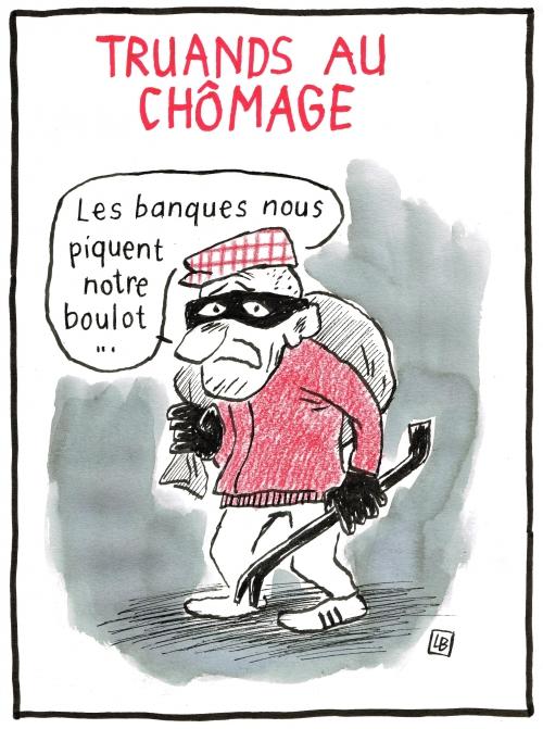 webzine,bd,zébra,gratuit,fanzine,bande-dessinée,caricature,lb,dessin,presse,satirique,banque,voleur,editorial cartoon