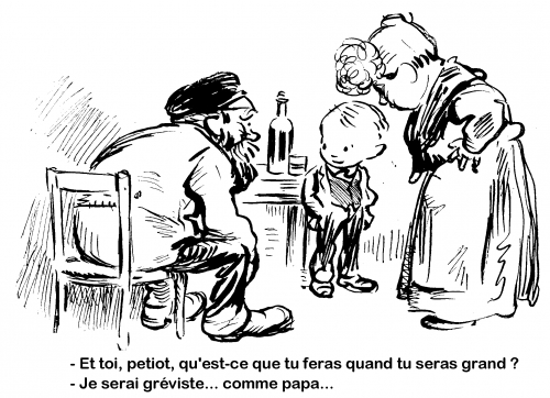 webzine,bd,zébra,gratuit,fanzine,bande-dessinée,caricature,henry somm,gréviste,xixe siècle,dessin,presse,satirique,editorial cartoon