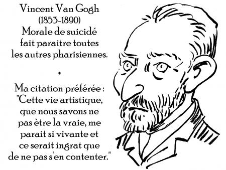 webzine,zébra,gratuit,bd,fanzine,bande-dessinée,antistyle,littéraire,critique,littérature,portrait,écrivain,caricature,citation,van gogh