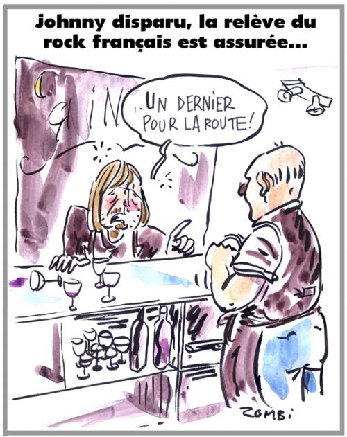 webzine,bd,zébra,gratuit,fanzine,bande-dessinée,caricature,renaud,séchan,johnny hallyday,mort,rock français,dessin,presse,satirique,editorial cartoon,zombi