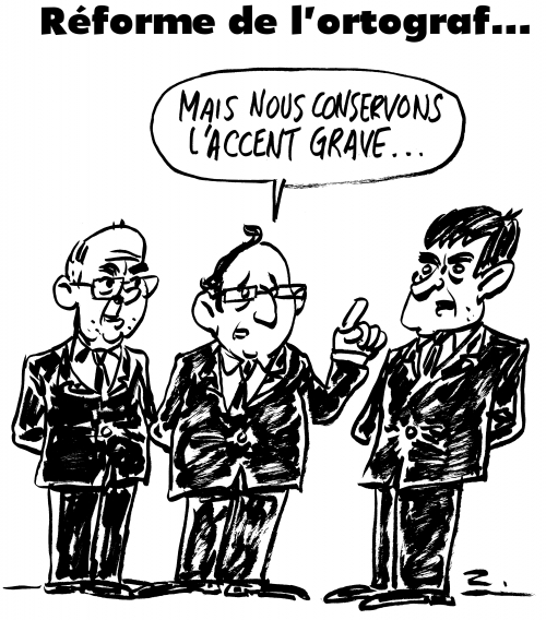 webzine,bd,zébra,gratuit,fanzine,bande-dessinée,caricature,réforme,orthographe,françois hollande,manuel valls,bernard cazeneuve,ortograf,dessin,presse,editorial cartoon,satirique,zombi
