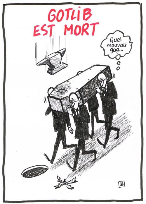webzine,bd,zébra,gratuit,fanzine,bande-dessinée,caricature,marcel gotlib,mort,4 décembre,2016,énigmatique lb,dessin,presse,gag,satirique,editorial cartoon,zombi