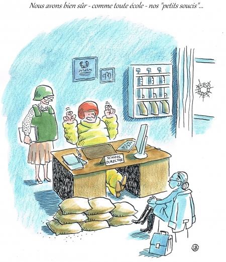 webzine,zébra,bd,gratuit,fanzine,bande-dessinée,satirique,caricature,dessin de presse,sécurité,école,lb,editorial cartoon