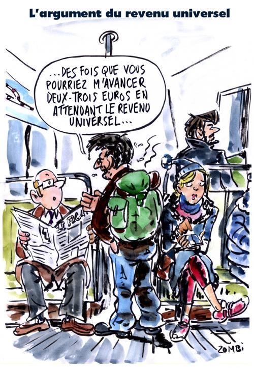 webzine,bd,zébra,gratuit,fanzine,bande-dessinée,caricature,revenu universel,métro,paris,manche,dessin,presse,satirique,editorial cartoon,zombi