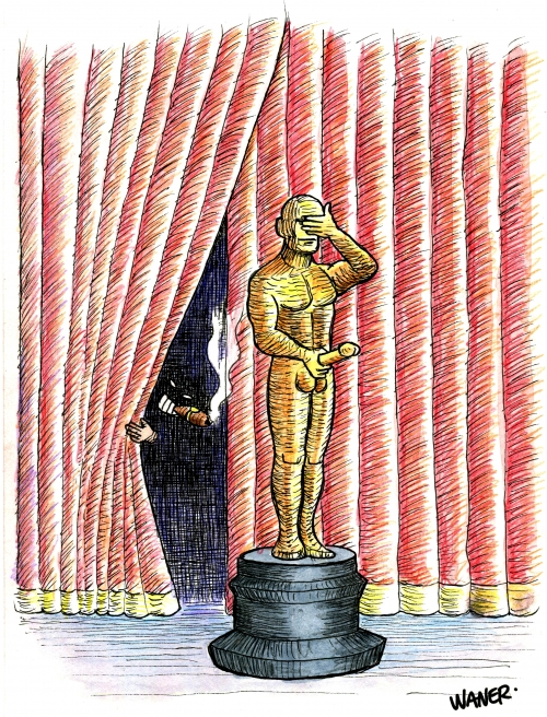 webzine,bd,zébra,gratuit,fanzine,bande-dessinée,caricature,harvey weinstein,harcèlement sexuel,hollywood,oscar,cinéma,actrice,dessin,presse,satirique,editorial cartoon,waner