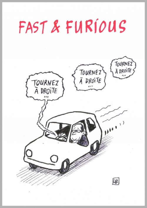 webzine,bd,zébra,gratuit,fanzine,bande-dessinée,caricature,françois hollande,fast and furious,dessin,presse,satirique,editorial cartoon,lb