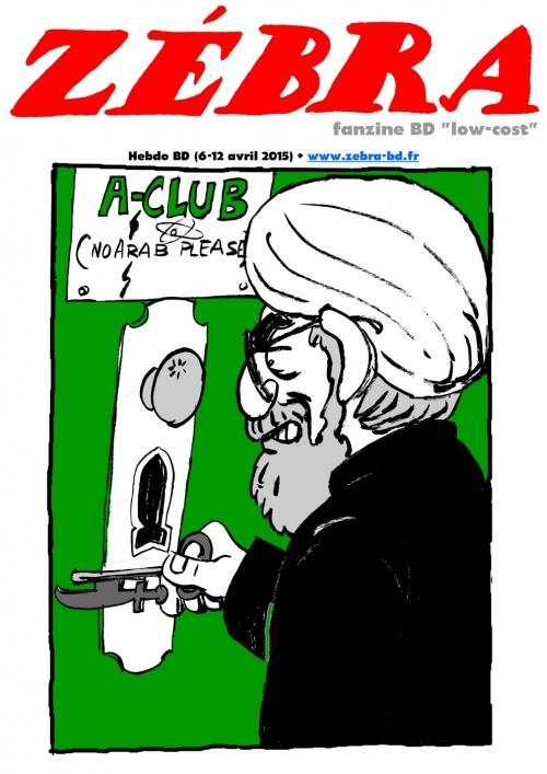 webzine,bd,gratuit,fanzine,zébra,bande-dessinée,revue de presse,actualité,hebdomadaire,couverture,zombi,hassan rohani,issuu.com,pdf,lien hypertexte