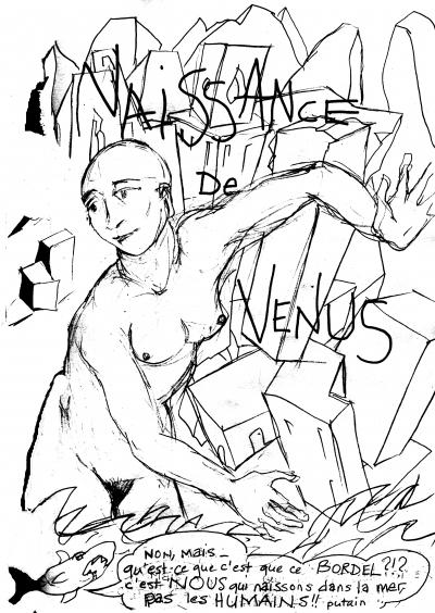 webzine,bd,gratuit,zébra,fanzine,bande-dessinée,louise asherson,carnet,croquis,dessin,naissance,vénus