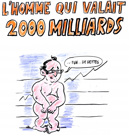webzine,zébra,gratuit,bd,fanzine,bande-dessinée,satirique,caricature,françois hollande,emmanuel macron,dette,deux milliards,dessin,presse,zombi