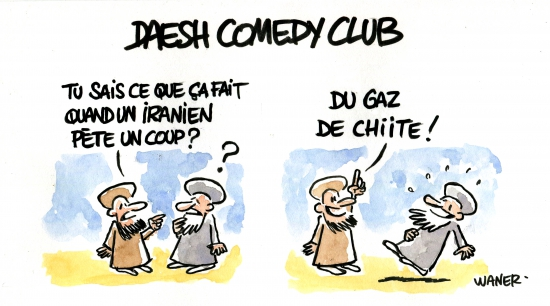 webzine,bd,zébra,gratuit,fanzine,bande-dessinée,caricature,daesh,comedy club,chiite,waner,dessin,presse,satirique,editorial cartoon