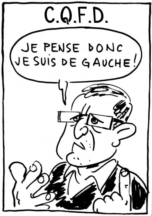 webzine,bd,zébra,gratuit,fanzine,bande-dessinée,caricature,michel onfray,gauche,philosophie,cqfd,dessin,presse,satirique
