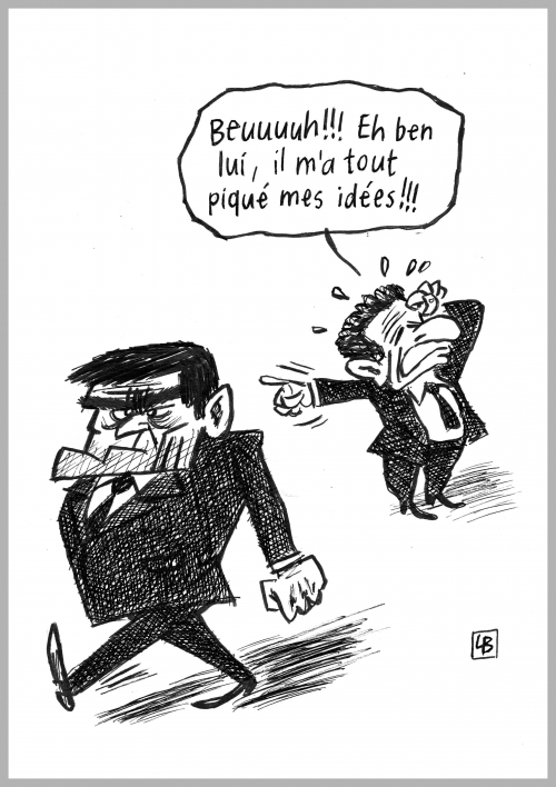 webzine,bd,fanzine,zébra,gratuit,bande-dessinée,caricature,manuel valls,nicolas sarkozy,dessin,presse,satirique,editorial cartoon,lb