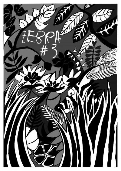 zebra,fanzine,couverture,jungle,aurélie, dekeyser, bd