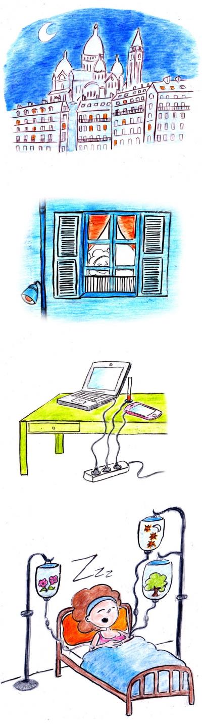webzine,zébra,bd,gratuit,bande-dessinée,fanzine,strip,lola,aurélie dekeyser,montmartre,martha,book
