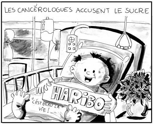 webzine,bd,zébra,gratuit,fanzine,bande-dessinée,gag,cancérologue,humour,jonx,sucre,haribo,dessin