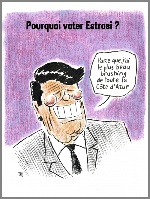 webzine,bd,zébra,gratuit,fanzine,bande-dessinée,caricature,christian estrosi,paca,élections,régionales,brushing,dessin,presse,satirique,editorial cartoon
