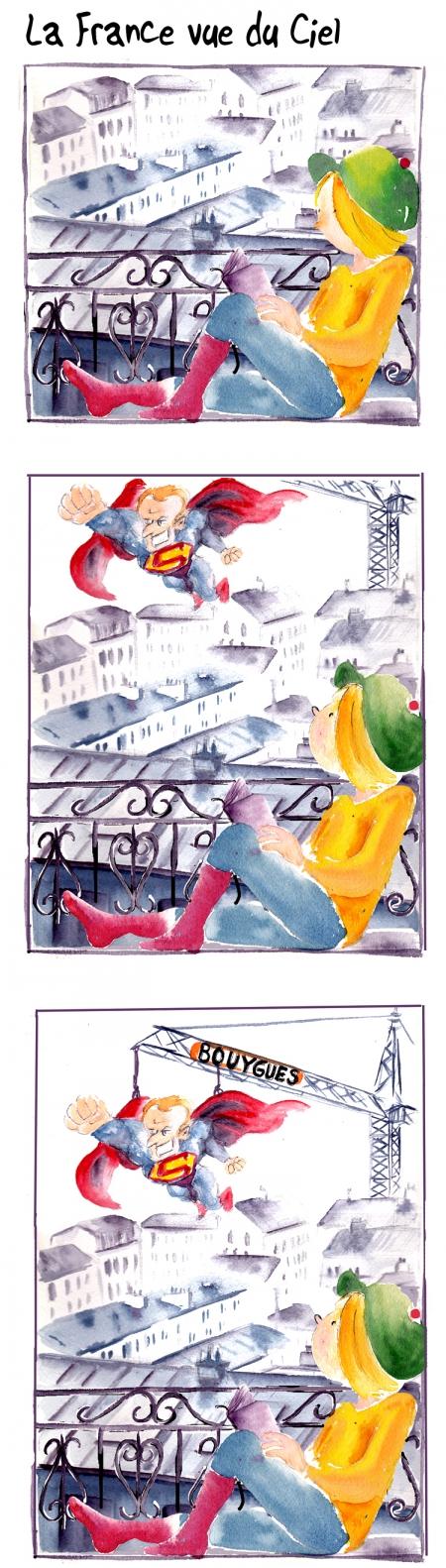 webzine,bd,gratuit,zébra,bande-dessinée,fanzine,strip,lola,aurélie dekeyser,paris,macron,présidentielles,2017,victoire,superman,bouygues