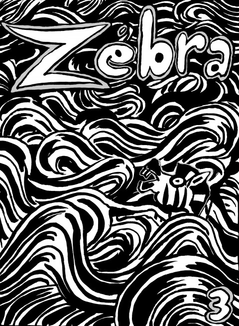 fanzine,bd,zébra,illustration,couverture
