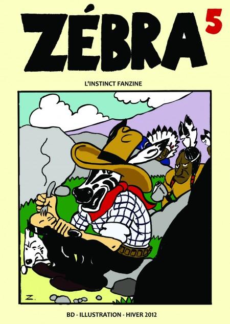 fanzine,zébra,bd,bande-dessinée,blog,couverture,pastiche,humour,zombi,illustration