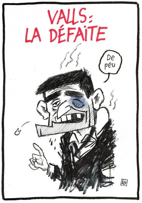 webzine,bd,gratuit,zébra,fanzine,bande-dessinée,caricature,manuel valls,défaite,primaire,socialiste,dessin,presse,satirique,editorial cartoon,lb