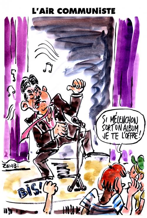 webzine,zébra,bd,gratuit,fanzine,bande-dessinée,caricature,jean-luc mélenchon,front de gauche,présidentielle,2017,dessin,presse,satirique,editorial cartoon,zombi