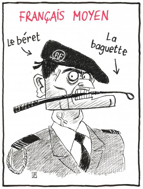 webzine,bd,zébra,gratuit,fanzine,bande-dessinée,caricature,manuel valls,béret,baguette,dessin,presse,satirique,editorial cartoon,lb
