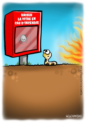 webzine,gratuit,bd,zébra,bande-dessinée,fanzine,wschinski,sebastian weissborn,allemand,gag,humbug,incendie,ver de terre,webcomic,polar,g-1759