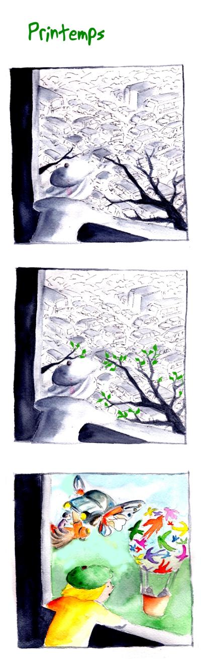 (par aurélie dekeyser)  webzine,bd,gratuit,zébra,bande-dessinée,fanzine,strip,lola,aurélie dekeyser,moutons,ferme,oies,marine le pen,présidentielle,2017,humour,satirique   webzine,printemps,paris,périf,couleurs