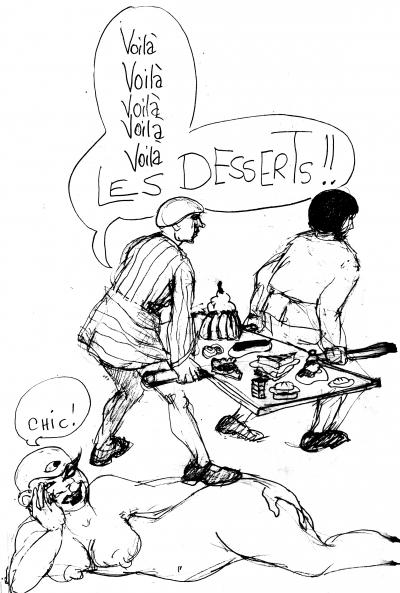 webzine,bd,gratuit,fanzine,bande-dessinée,zébra,croquis,dessin,louise asherson,carnet,dessin,dessert