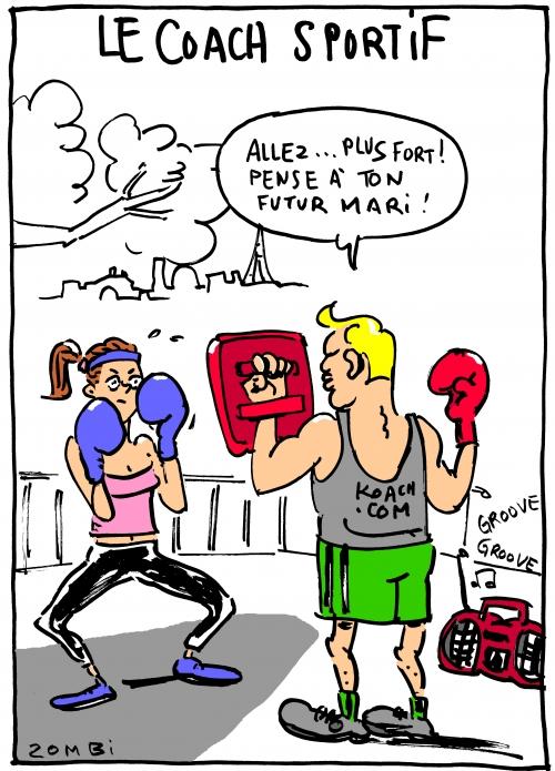 webzine,bd,zébra,gratuit,fanzine,bande-dessinée,caricature,coach,sportif,boxe