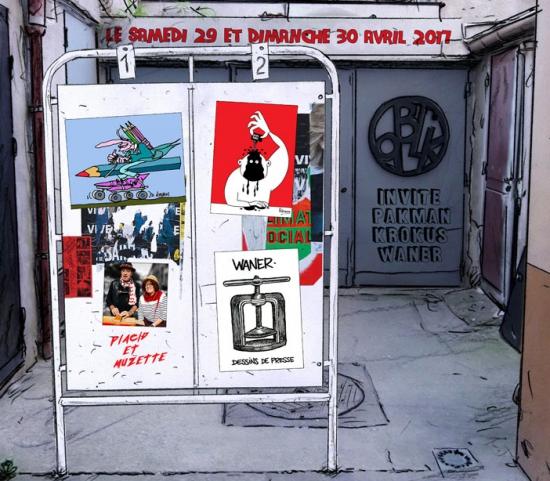webzine,bd,zébra,fanzine,gratuit,dessin,presse,caricature,krokus,waner,pakman,atelier oblik,clichy-la-garenne