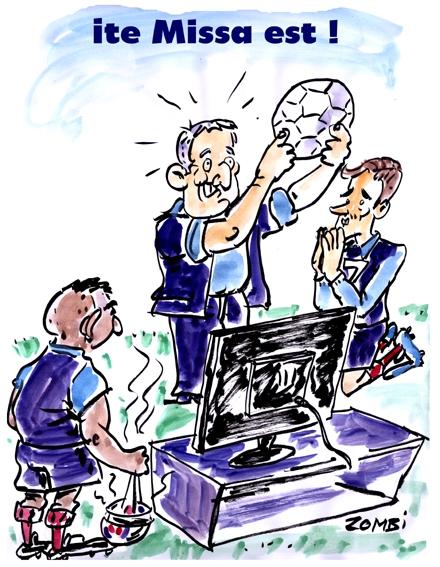 webzine,bd,zébra,fanzine,gratuit,bande-dessinée,dessin,presse,caricature,didier deschamps,euro 2016,football,griezmann,dimitri payet,messe,satirique,editorial cartoon,zombi