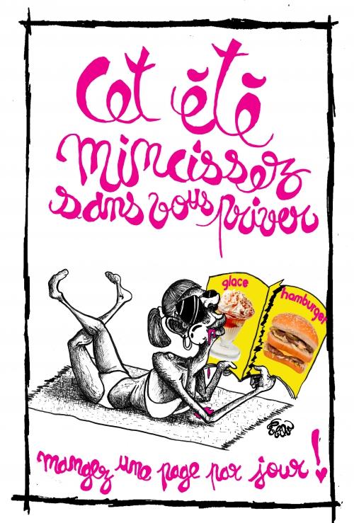 webzine,bd,gratuit,zébra,fanzine,bande-dessinée,caricature,bobika,siné-mensuel,dessin,presse,satirique,editorial cartoon,plage,bronzage,été,2017,vacances