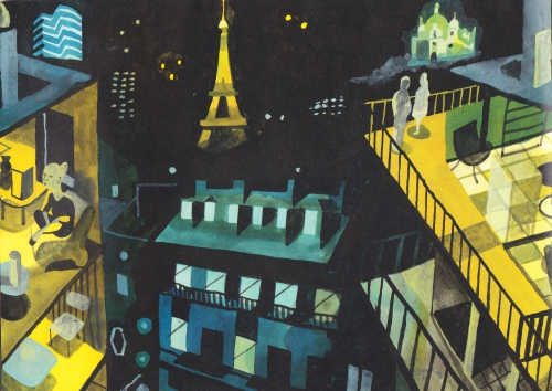 webzine,bd,fanzine,zébra,gratuit,critique,kritik,brecht evens,paris,travel book,louis vuitton,chéri samba,jiro tanagushi,lorenzo mattoti,trocadéro,passage des Panoramas,souk,aquarelle,gouache,fauve,vlaminck,severini,otto dix,balthus