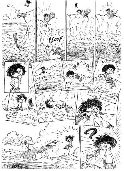 david roche,fanzine,zébra,bd,illustration,tomolo-kéké,navigateur sauvage,villiers de l'isle-adam,adaptation,conte