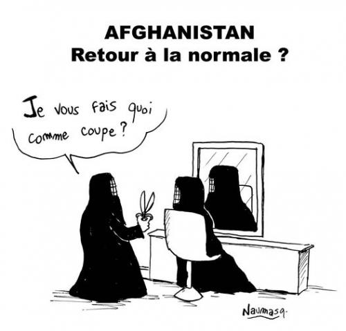 webzine,bd,zébra,gratuit,fanzine,bande-dessinée,caricature,talibans,burqa,coiffeur,dessin,presse,satirique,naumasq