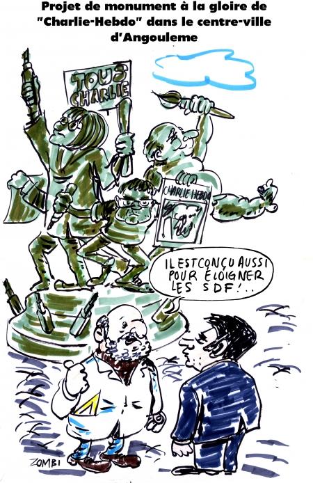 webzine,bd,zébra,gratuit,fanzine,bande-dessinée,caricature,cabu,charb,angoulême,charlie-hebdo,monument,dessin,presse,satirique,editorial cartoon,zombi